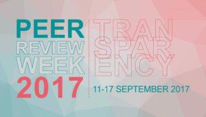 Peer Review Week 2017 - Transparacy