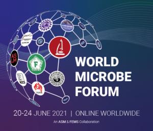 World Microbe Forum logo