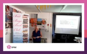 Joanna Verran and her Bad Bugs Bookclub meetings